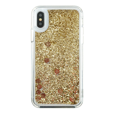 GOLD GODDESS - Glitter Waterfall iPhone Case Beautiful & Protective Premium phone cases for Apple iPhone, Samsung Galaxy and more.