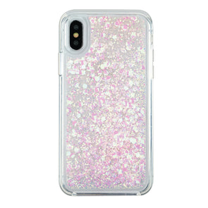 PINK BLOSSOM - Glitter Waterfall iPhone Case Beautiful & Protective Premium phone cases for Apple iPhone, Samsung Galaxy and more.