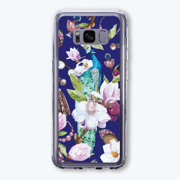 S1050 Peacock in fashion garden Beautiful & Protective Premium phone cases for Apple iPhone, Samsung Galaxy and more.