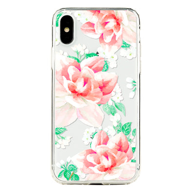 Lovely roseate floral Beautiful & Protective Premium phone cases for Apple iPhone, Samsung Galaxy and more.