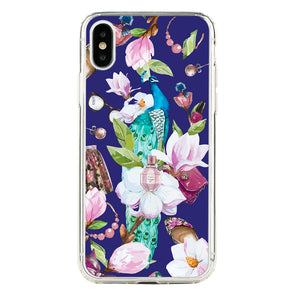 Peacock in fashion garden Beautiful & Protective Premium phone cases for Apple iPhone, Samsung Galaxy and more.