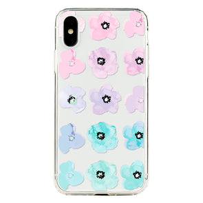 12 Pastel floral Beautiful & Protective Premium phone cases for Apple iPhone, Samsung Galaxy and more.