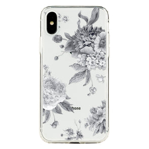 Grayscale Bloom Beautiful & Protective Premium phone cases for Apple iPhone, Samsung Galaxy and more.