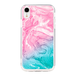 Marble duo pink and tiffany Beautiful & Protective Premium phone cases for Apple iPhone, Samsung Galaxy and more.