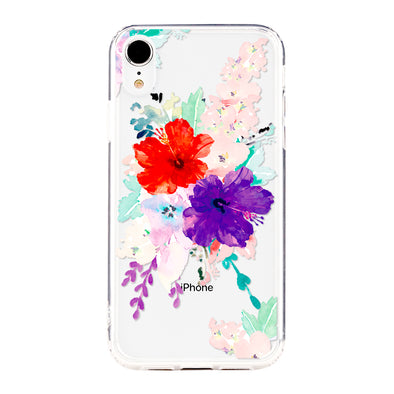 Spring floral splash Beautiful & Protective Premium phone cases for Apple iPhone, Samsung Galaxy and more.