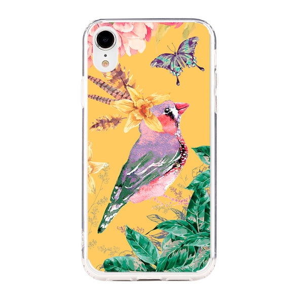 Tropical yellow spring Beautiful & Protective Premium phone cases for Apple iPhone, Samsung Galaxy and more.