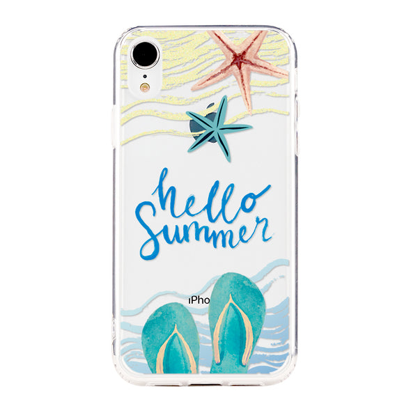 Hello summer Beautiful & Protective Premium phone cases for Apple iPhone, Samsung Galaxy and more.