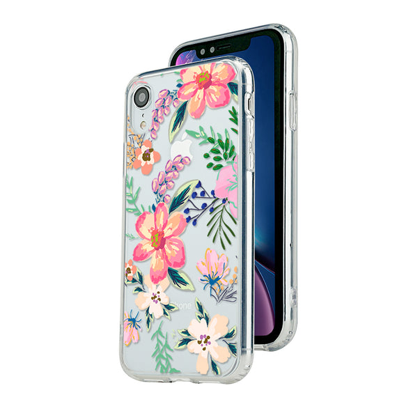 Spring colorful hand-painted florals Beautiful & Protective Premium phone cases for Apple iPhone, Samsung Galaxy and more.