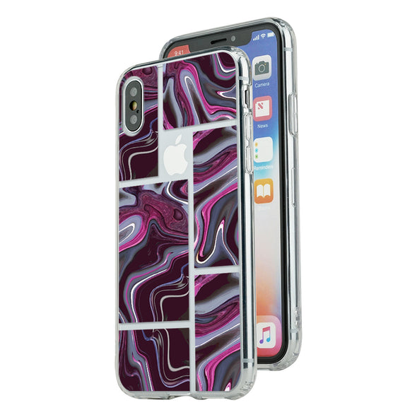 Marble purple puzzle Beautiful & Protective Premium phone cases for Apple iPhone, Samsung Galaxy and more.