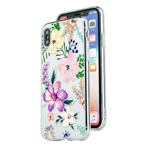 Spring colorful hand-painted florals and brunches Beautiful & Protective Premium phone cases for Apple iPhone, Samsung Galaxy and more.