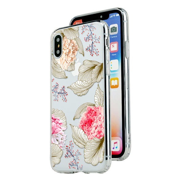 Tender peony Beautiful & Protective Premium phone cases for Apple iPhone, Samsung Galaxy and more.