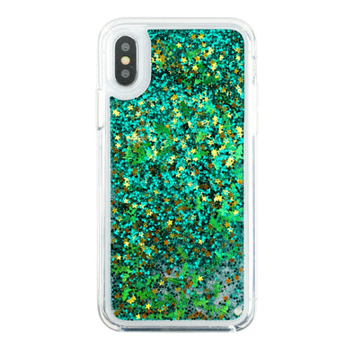 XMAS STARS - Glitter Waterfall iPhone Case Beautiful & Protective Premium phone cases for Apple iPhone, Samsung Galaxy and more.