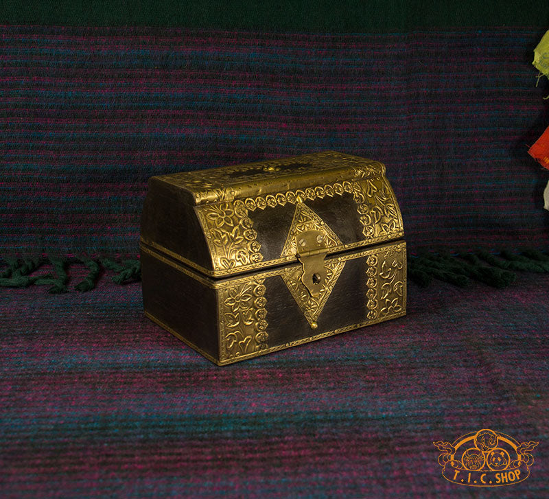 Indian Wooden Jewelry Box