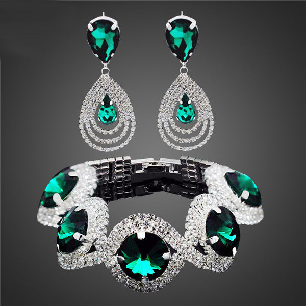 Jewelry Sets For Women Rhinestone Austrian Crystal