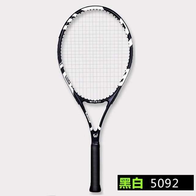 Professional Carbon Fiber Tennis Racket String 58 LBS