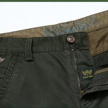 Cotton Pants Casual  Men Clothing Military Army Green