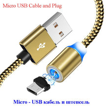 1M Magnetic Micro USB Cable For iPhone Samsung Android Mobile Phone