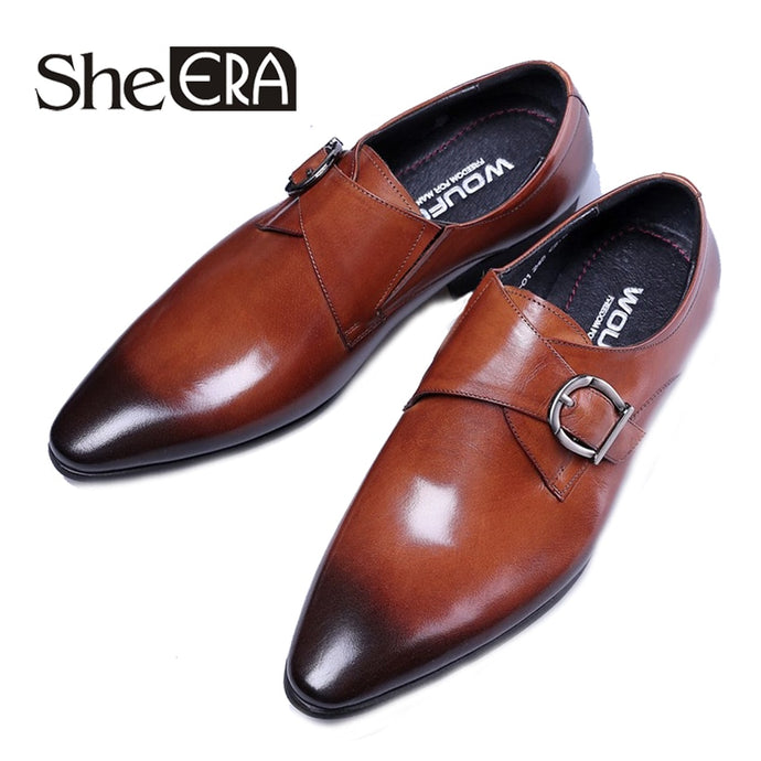 High Quality Men Oxfords Leather Shoes