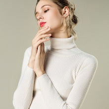 Turtleneck Women Cashmere Sweater