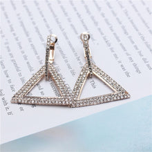 Creative jewelry high-grade elegant crystal earrings  Gold  or silver different designs