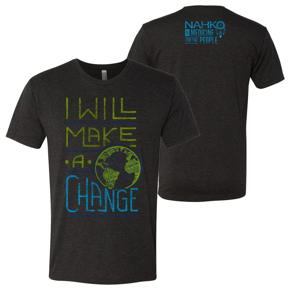 Nahko and Medicine for the People - Make a Change T-Shirt