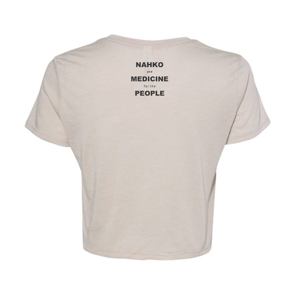 All Power All People Ladies Cropped T-Shirt
