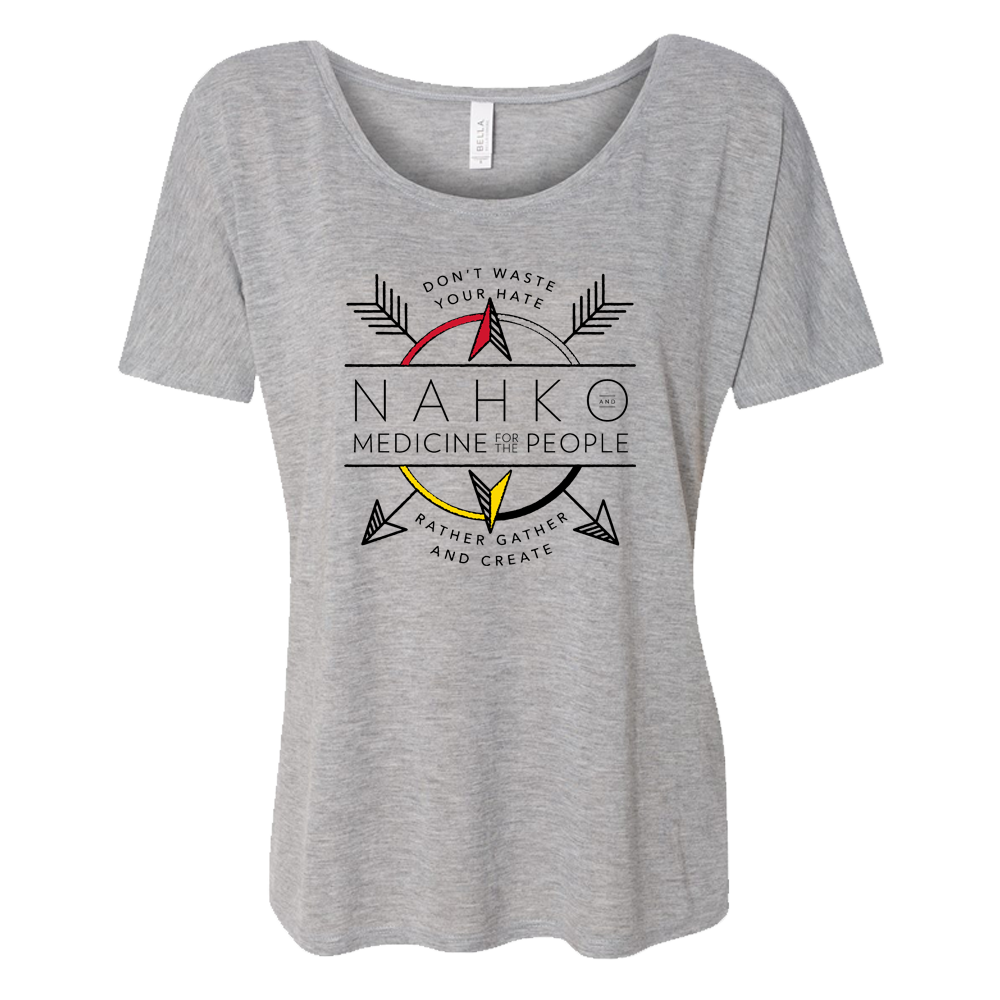 Nahko and Medicine for the People - Coat of Arms Women's T-Shirt