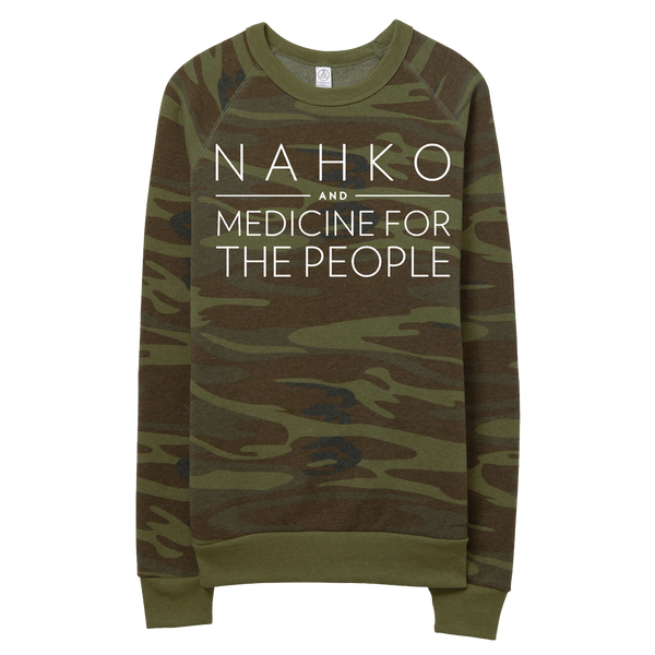 Nahko and Medicine for the People - Camo Sweater - PRE-ORDER