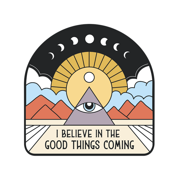 All Seeing Eye Sticker