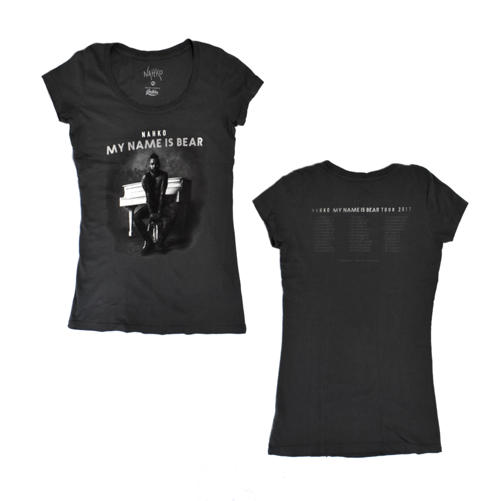 My Name Is Bear Tour Ladies T-Shirt