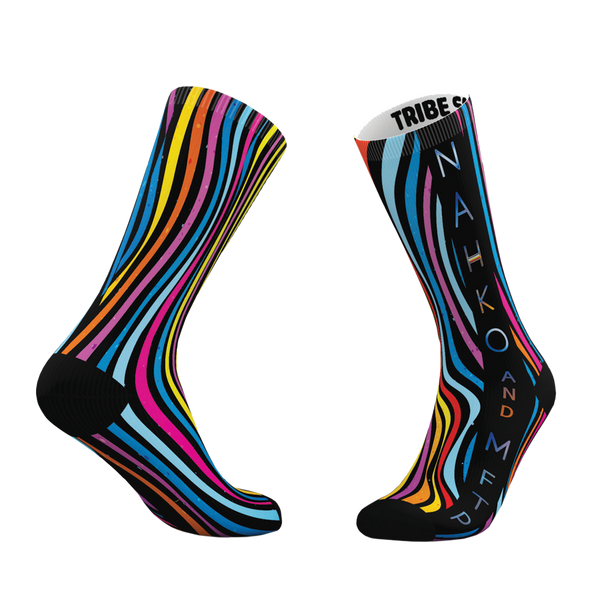 Wavy Striped Socks