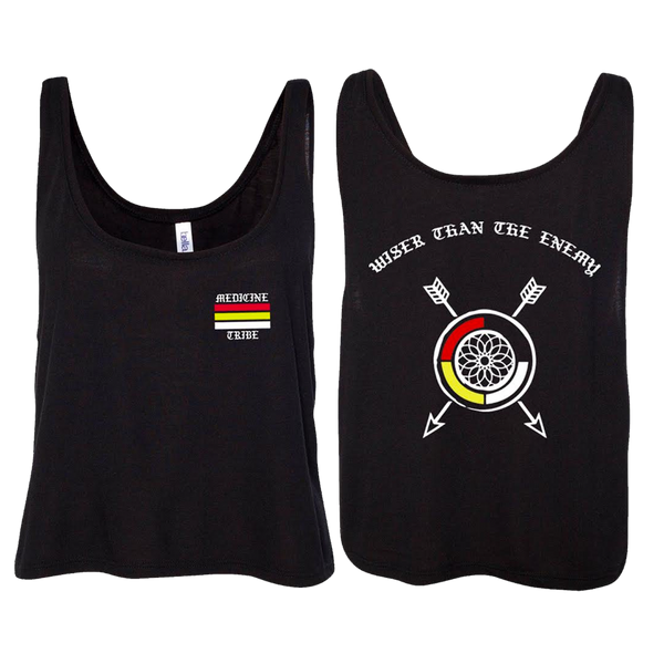 Nahko and Medicine for the People - Wiser Women's Tank