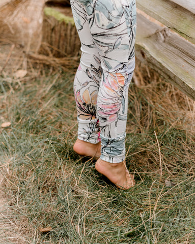 Floral Grow With Me Leggings