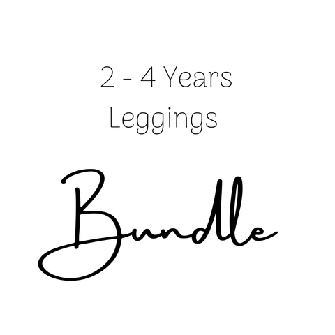 2-4 Years Legging Bundle