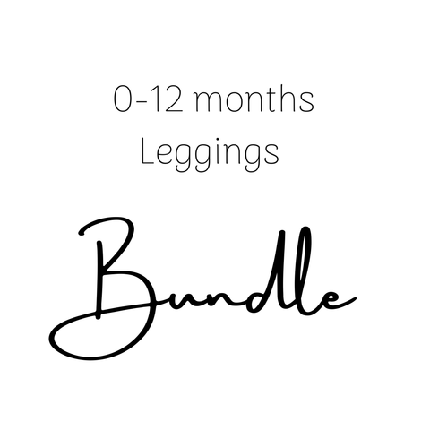 0-12 Month Leggings Bundle
