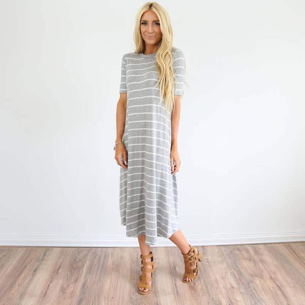 Grecia Stripe Dress