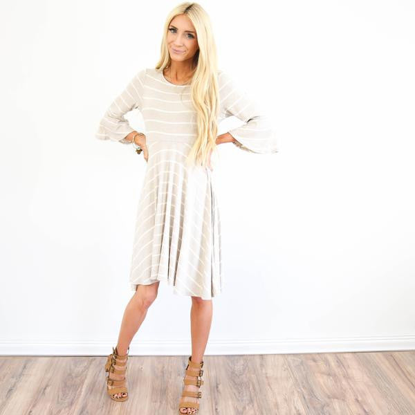 Cruz Stripe Dress