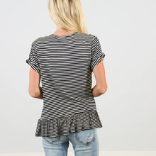 Vienna Stripe Top