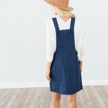 Dark Denim Overall Dress