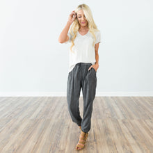 Charcoal Mineral Wash Pant