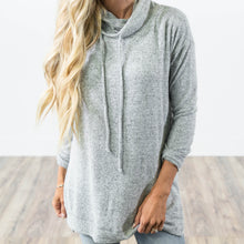 Demi Sweater in Heather Grey