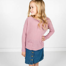 Molly Sweater in Mauve