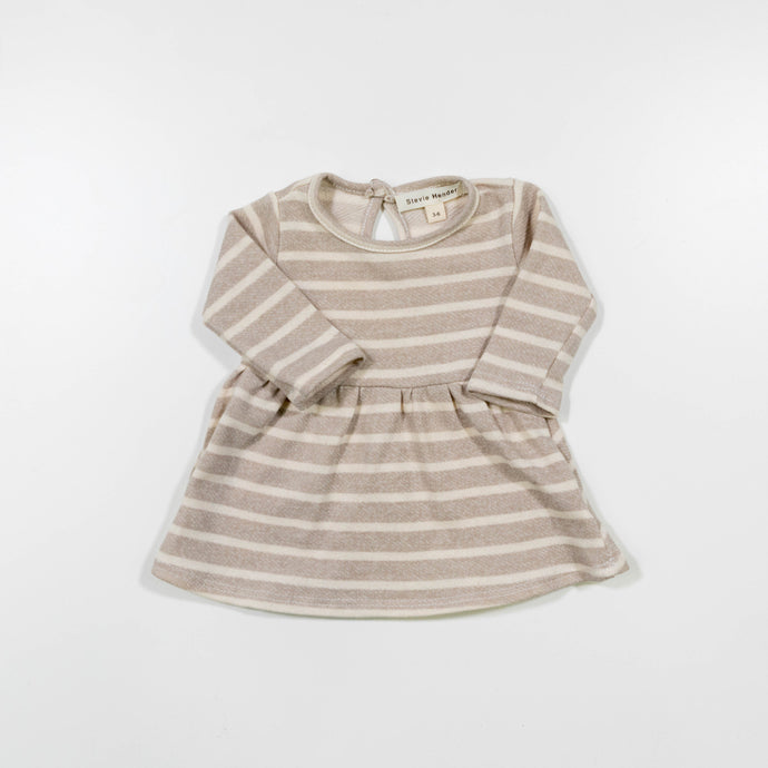 Melrose Baby Doll Dress with Stripes