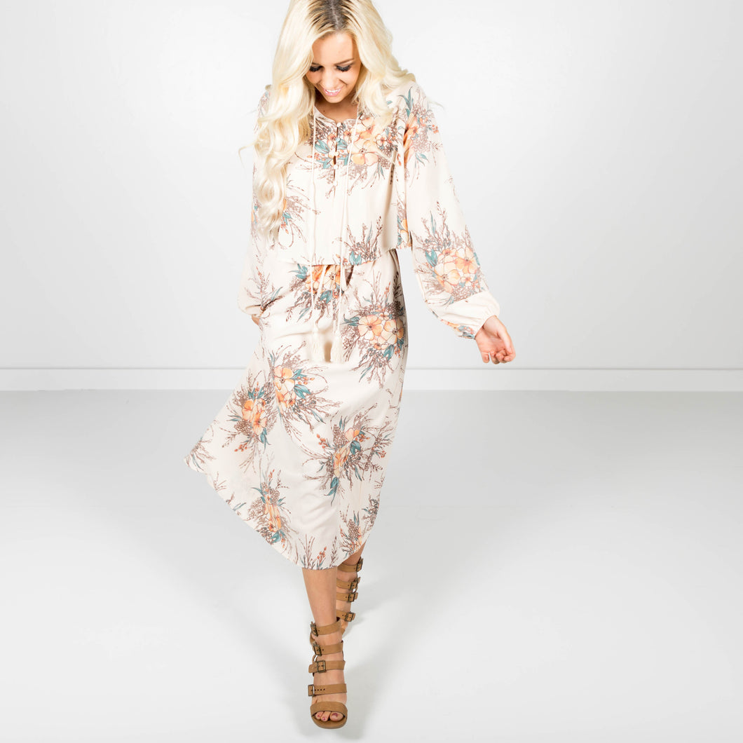 Kambrick Floral Dress