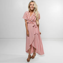 Auden Blush Wrap Dress
