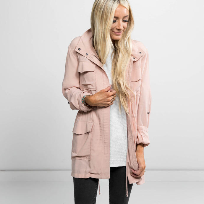 Ashton Mauve Jacket