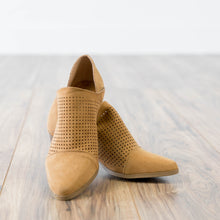 Raven Bootie in Dark Camel