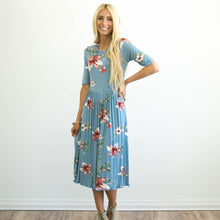 Ventura Pleated Floral Dress