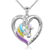 Unicorn pendant necklace - best unicorn gifts - gifts for unicorn lovers- unicorn jewelry - unicorn jewellery - unicorn shop