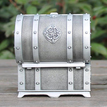Pewter Plated Trinket Jewellery Box Unique Gift for Grandma